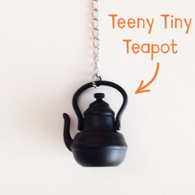 Teeny Tiny teapot tea diffuser